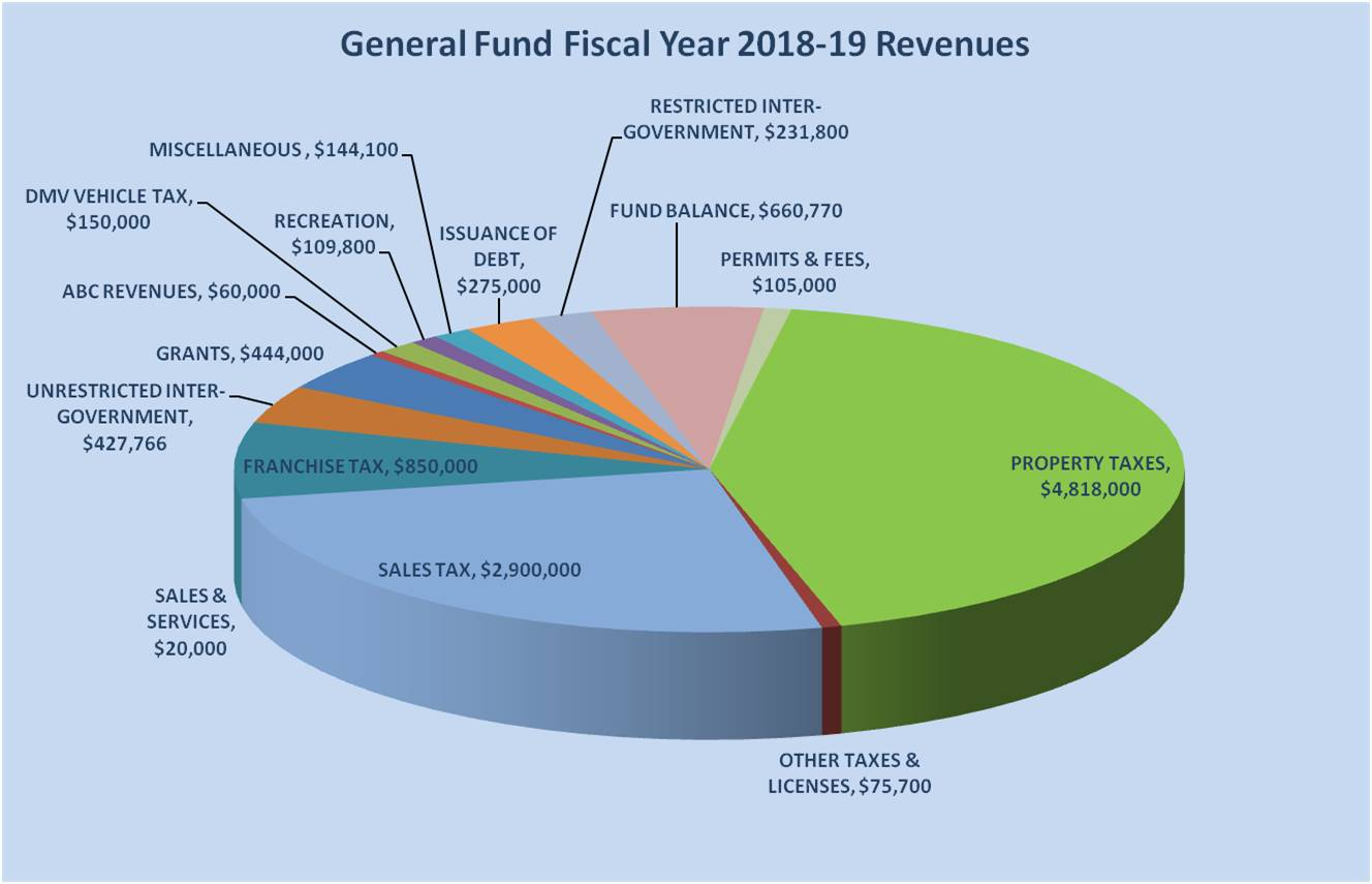 gen fund revs