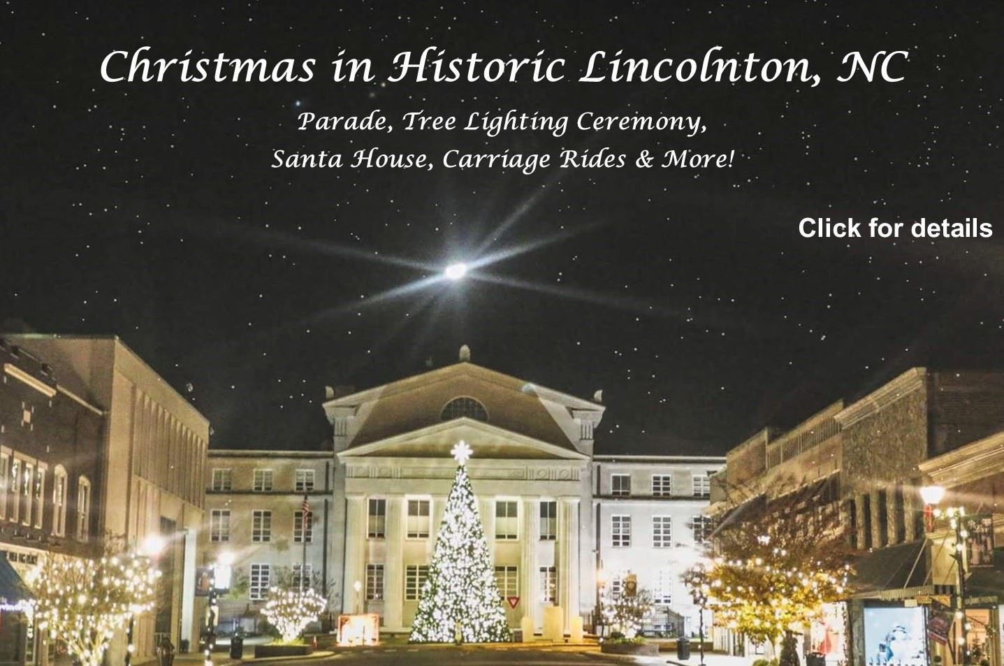 Lincolnton Christmas Parade 2020 Lincolnton, NC   Official Website