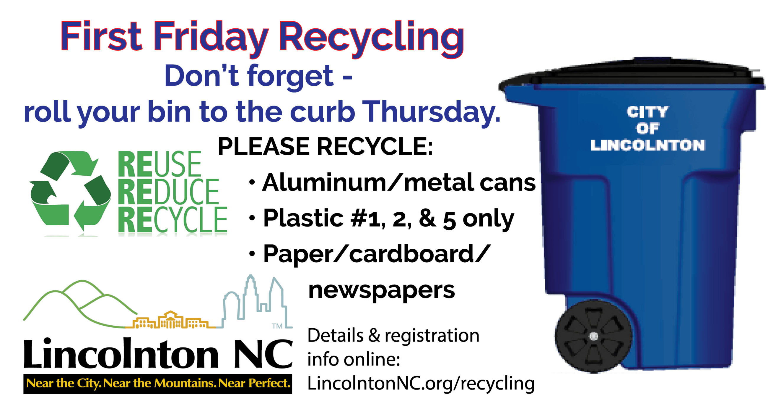 First Friday recycling-01