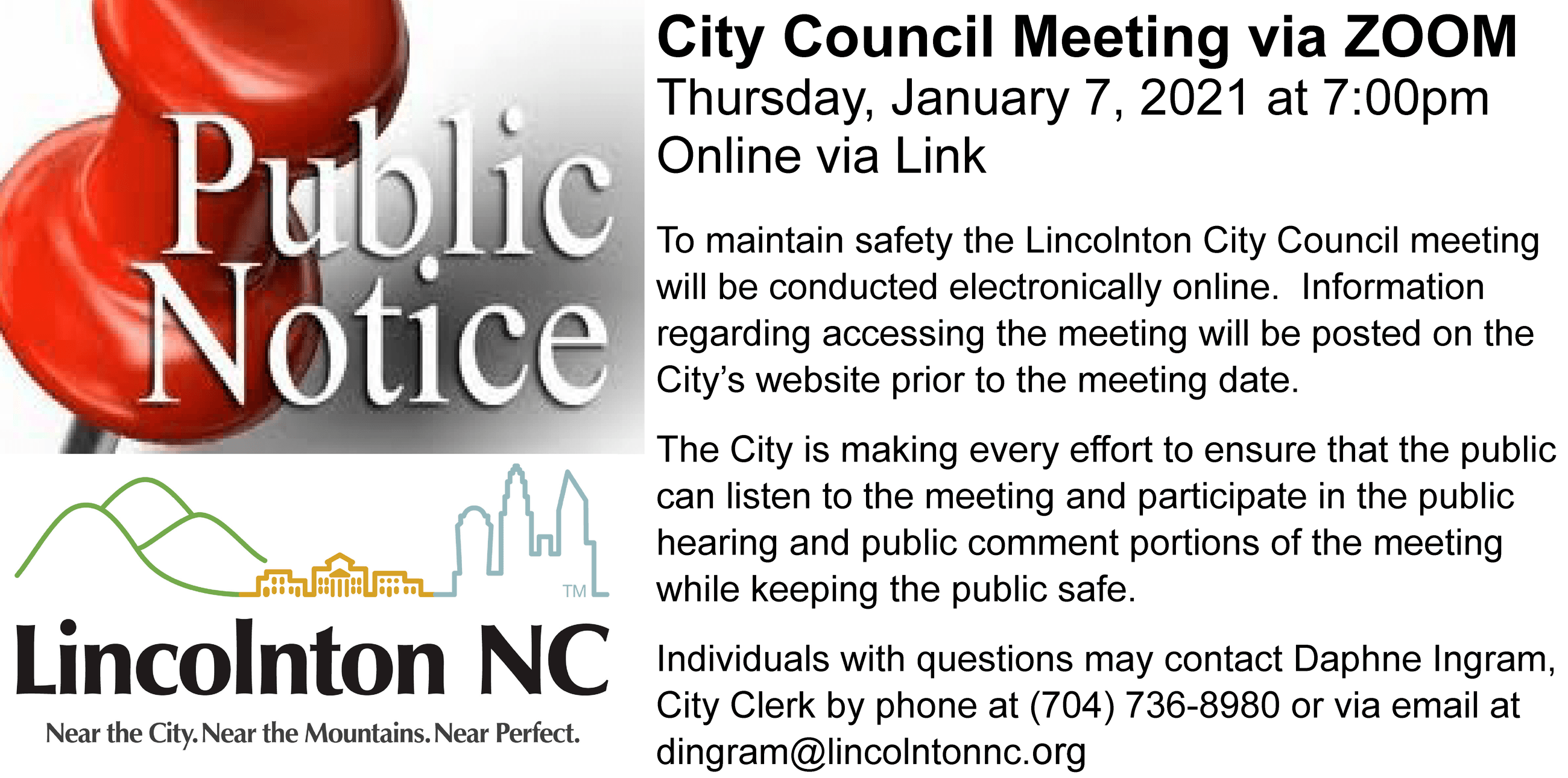 2020.12.31 public notice - 2021.01.07 council mtg virtual