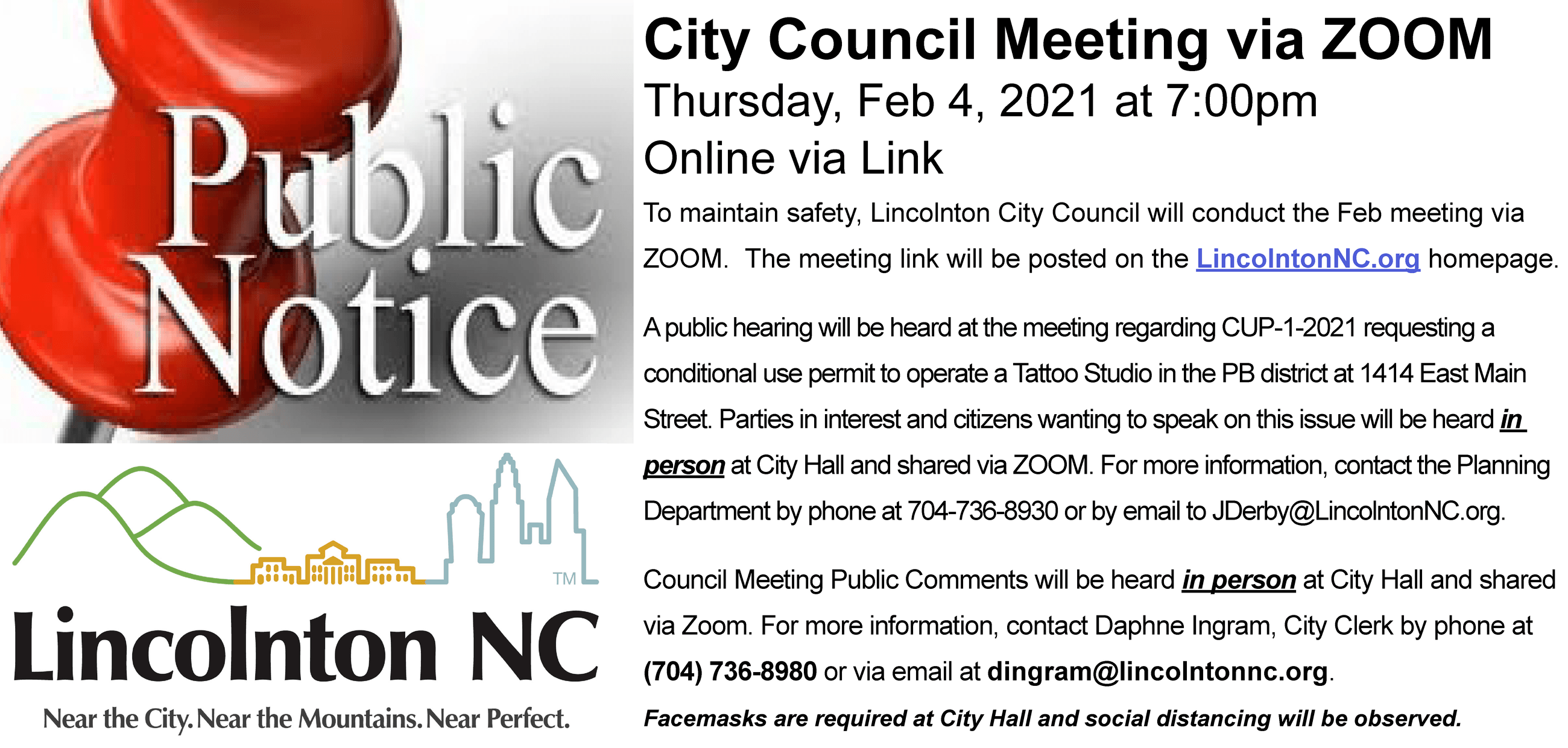 2021,1,25 public notice - 2021.02.04 council mtg virtual