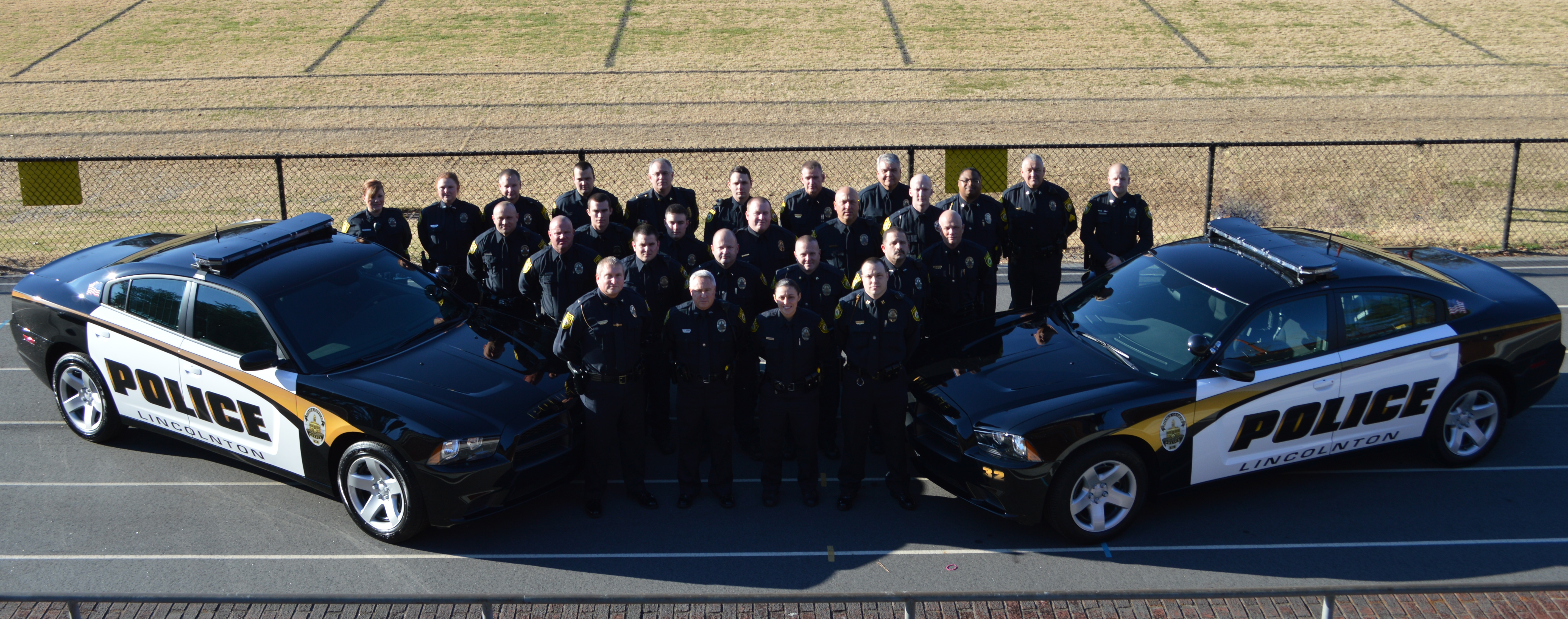 Police Department 2015 group photo