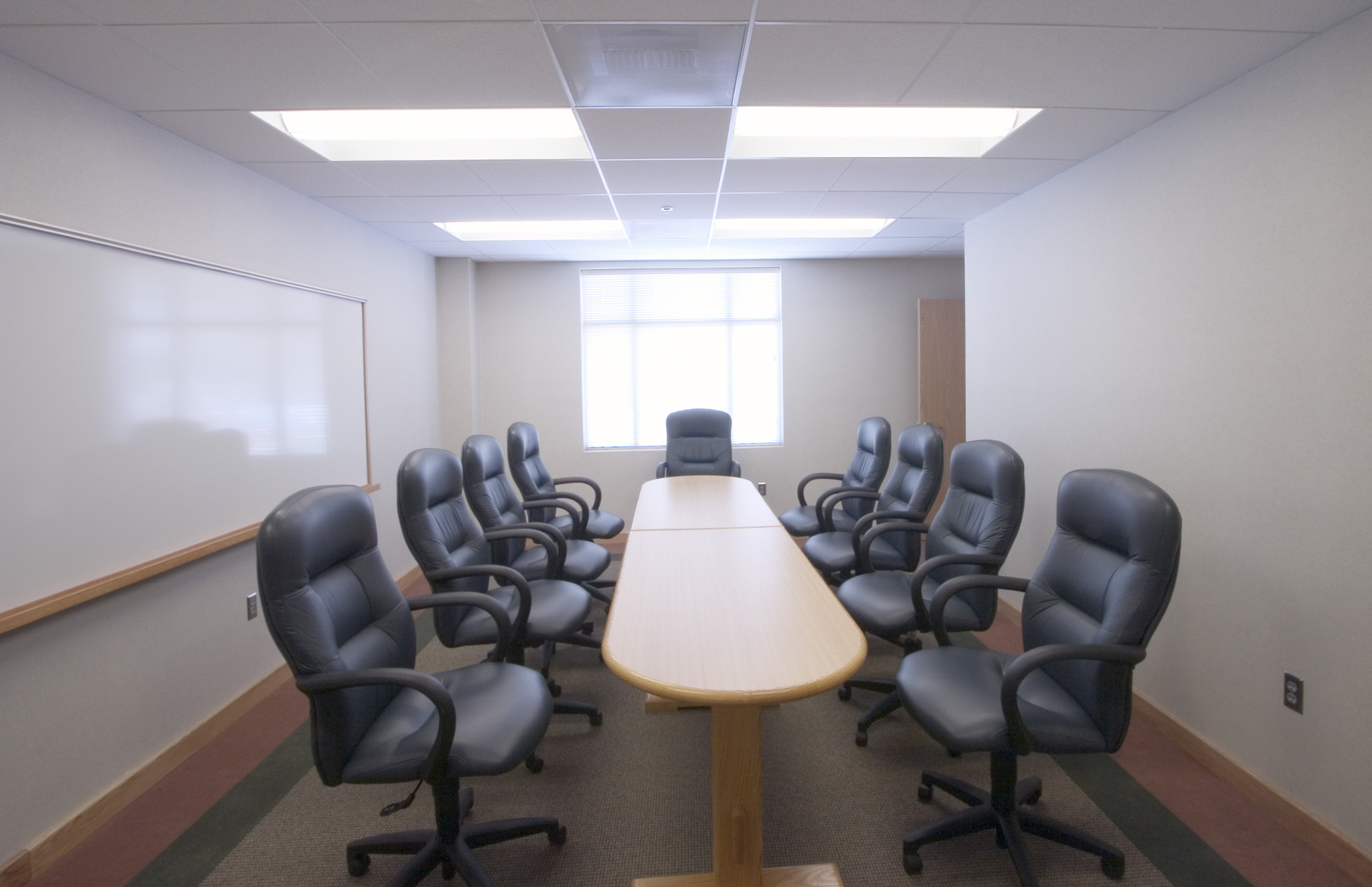 Board room of station