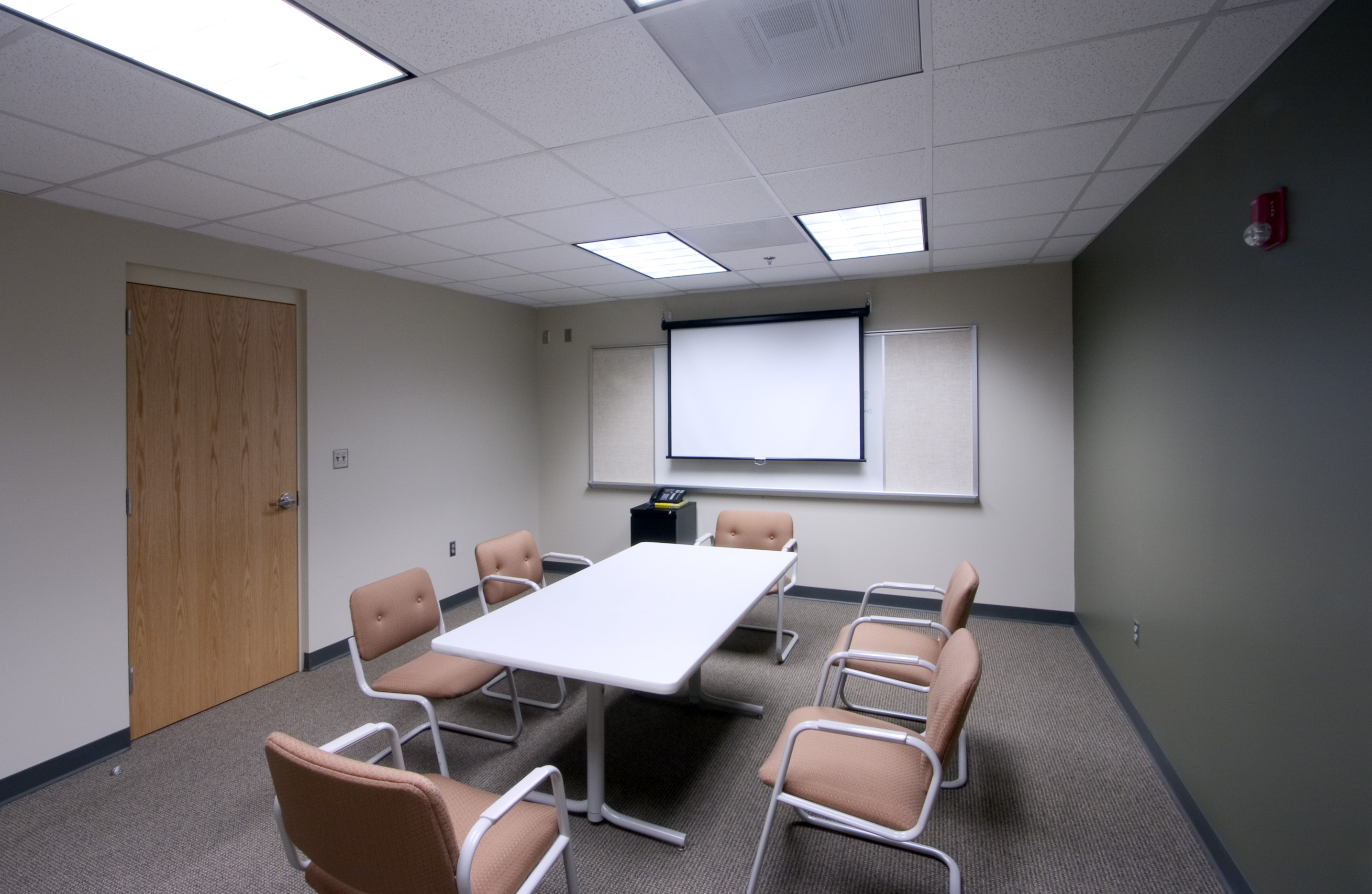 Conference room of fire station
